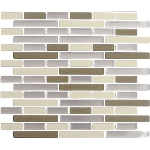DESERT SAND Peel and Stick-It Tile 11 X 9.25 Inch Value (4-Pack)
