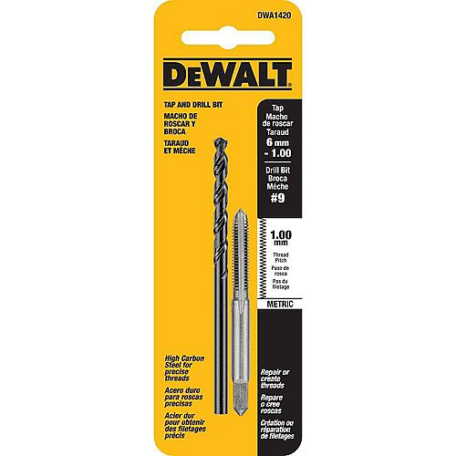 DWA1420 1/2 Inch Titanium Pilot Point Drill Bit