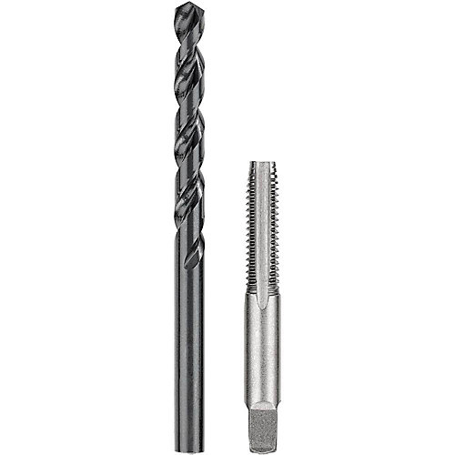 5/16 inch Black Oxide Drill and 3/8 inch. x 16 NC Steel Tap Set