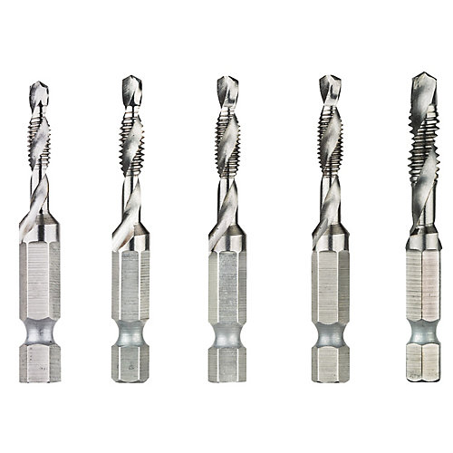 5Pc Drill Tap Set