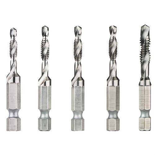 5Pc Drill Tap Set