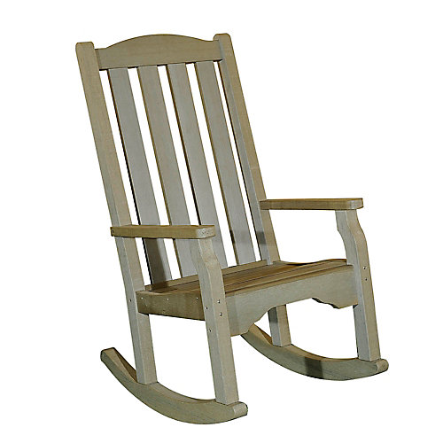 Greenfield Polywood Rocker in Gray
