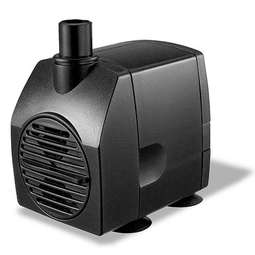 200GPH Statuary Fountain Pump for Water Features
