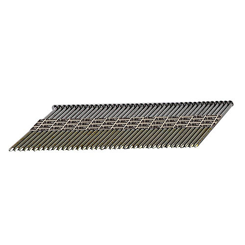 2 3/1-inch 30-Degree Smooth Galvanized Offset Round Head Framing Nails