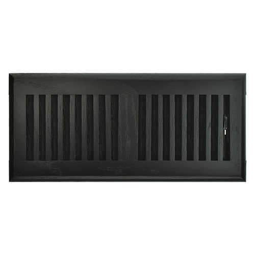 Hampton Bay 4 inch x 10 inch Floor Register - Black Oak
