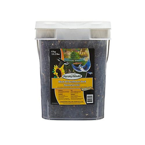 Tournesol Noir Seau de 6 kg
