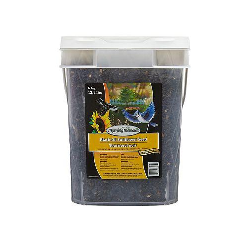 Black Oil Sunflower Pail 6KG
