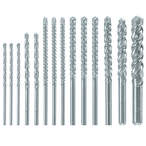 14-Piece Rotary Drill Bit Set
