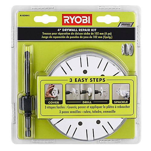 4-inch Drywall Repair Kit