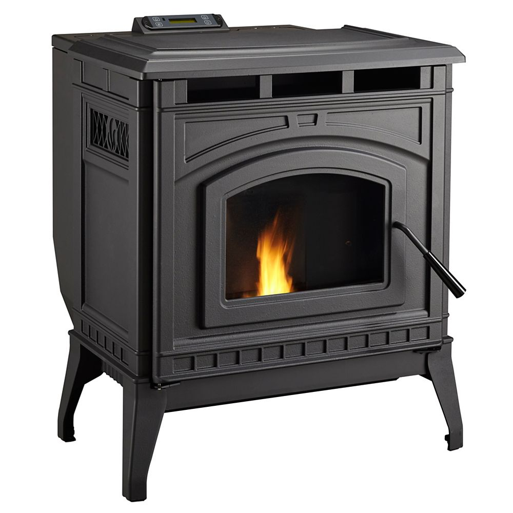 Pelpro PPC90 Cast Iron Pellet Stove -Auto Ignition 50,000 BTUs