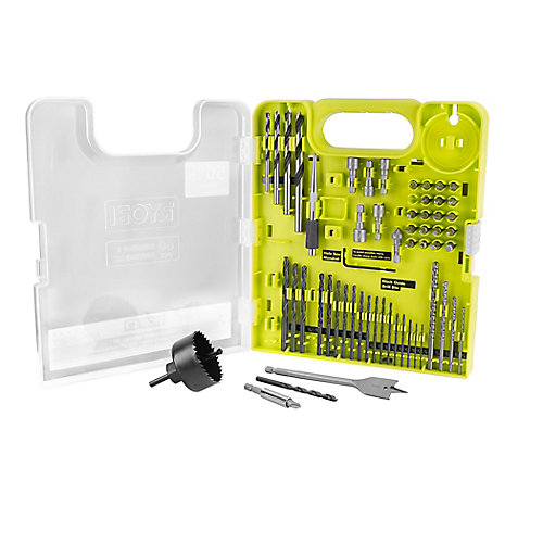 Multi-Material Drill and Drive Kit (60-Piece)