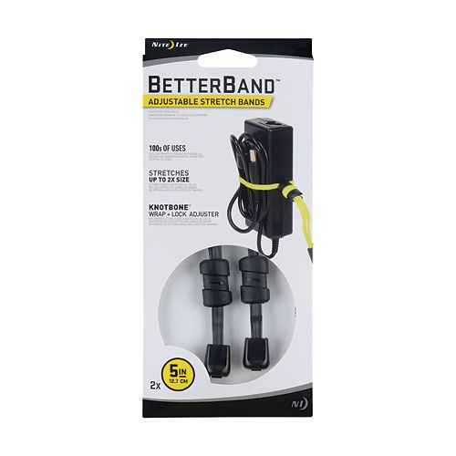 Nite Ize BetterBand Adjustable Stretch Bands 5 Inch