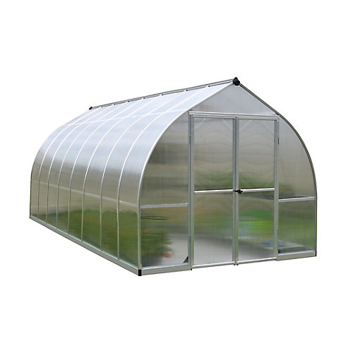 Bella 8 ft. x 16 ft. Greenhouse