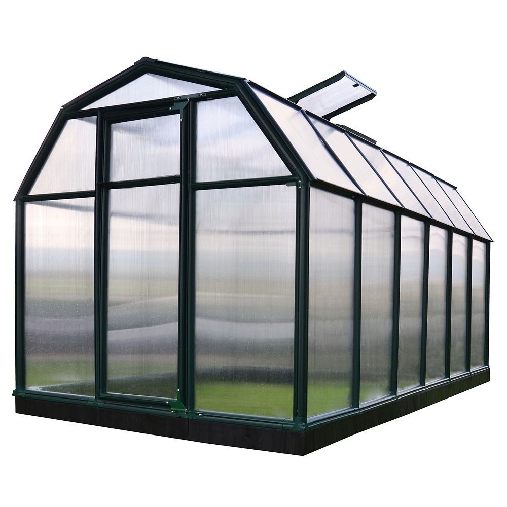 RION EcoGrow 6 ft. x 12 ft. Greenhouse