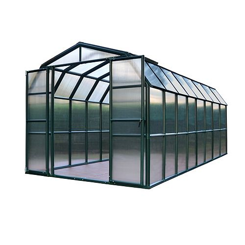 Premium Grand Gardener 8 1/2 ft. x 16 1/2 ft. Greenhouse