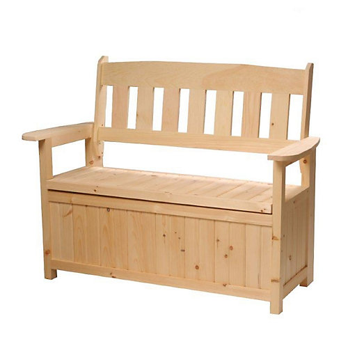Cape Cod Garden Storage Bench