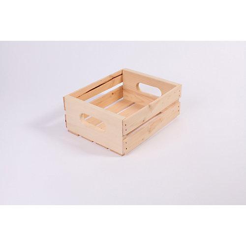 Caisse de pin 12 po x 9,5 po x 4,75 po