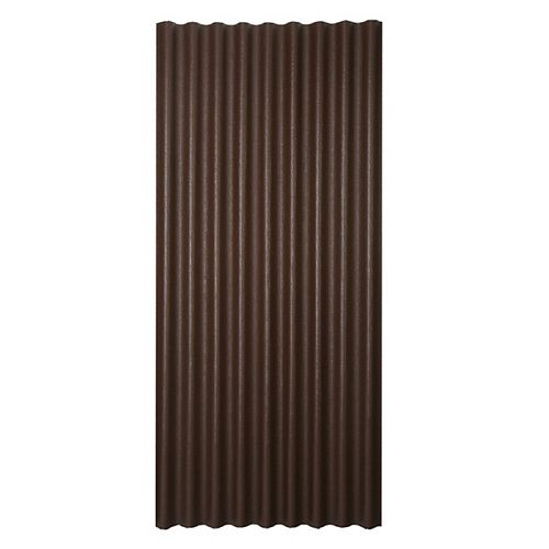 Sheet 36 Inch X 79 Inch Brown