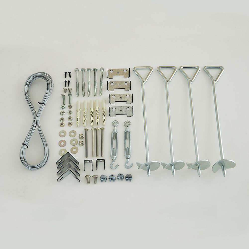 Palram Anchoring Kit for Greenhouses