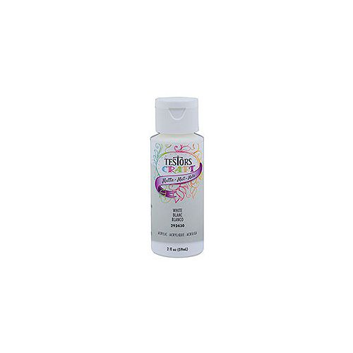 Acrylic Paint In Matte White, 59 mL