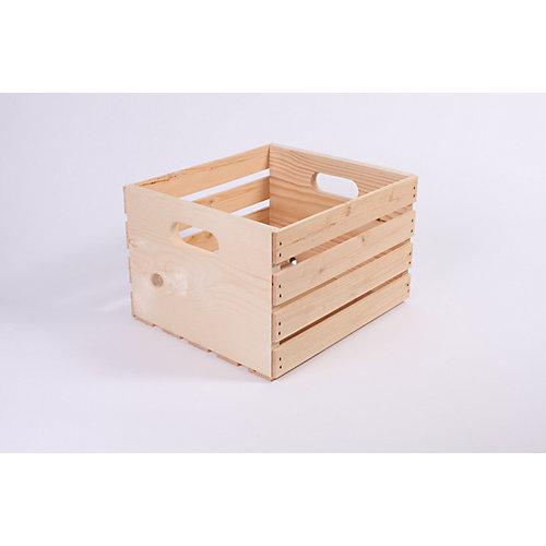 Caisse de pin 14,75 po x 13 po x 9,5 po