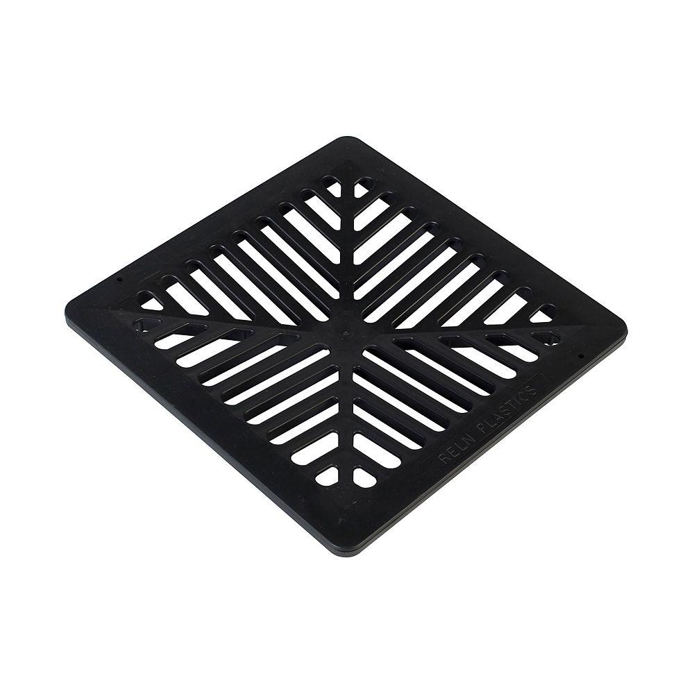 RELN 9 inch X 9 inch Black Grate