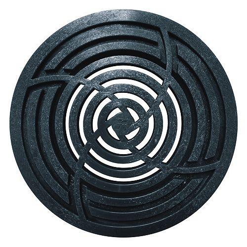 4 inch Round Black Grate