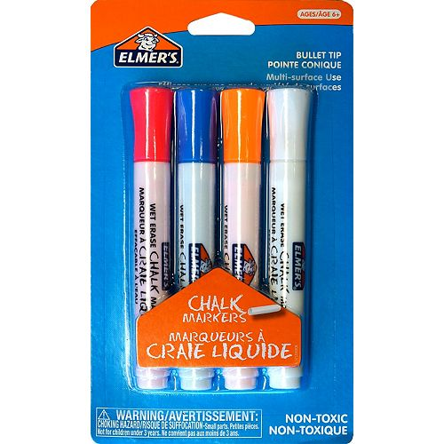 Chalk Markers, 4ct