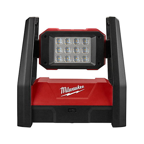 M18 18V Lithium-Ion Cordless 3000-Lumen ROVER LED AC/DC Portable Flood Light (Tool-Only)