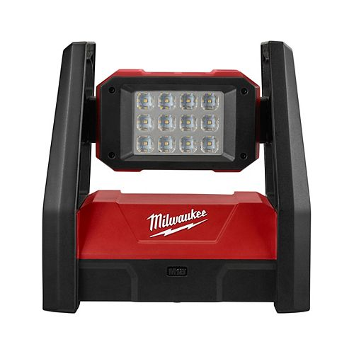 Milwaukee Tool M18 18V Lithium-Ion Cordless 3000-Lumen ROVER LED AC/DC Portable Flood Light (Tool Only)