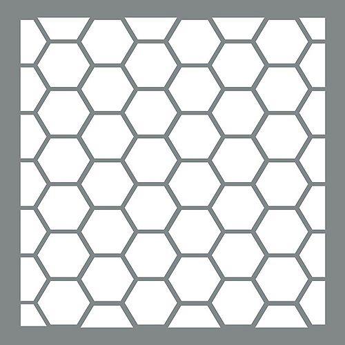 Stencil 6 inch Honeywire