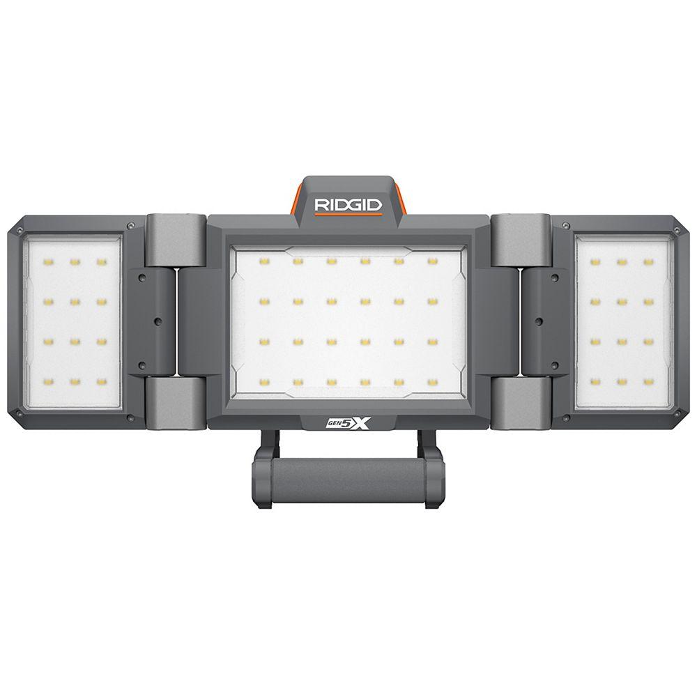 RIDGID 18V Hybrid Folding Panel Light (Tool Only)
