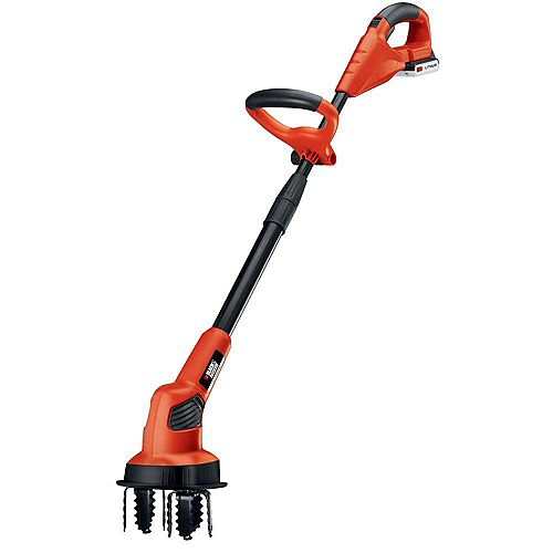 20V MAX Lithium-Ion Cordless Garden Cultivator/Tiller with 1.5Ah Battery and Charger