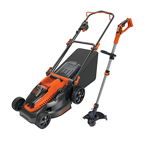 40V MAX Cordless Li-Ion 16-inch Mower and 13-inch String Trimmer Combo Kit