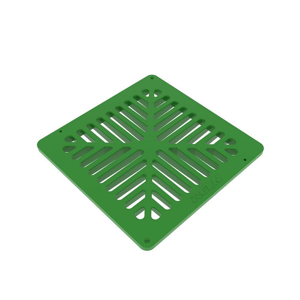 RELN 9 inch X 9 inch Green Grate