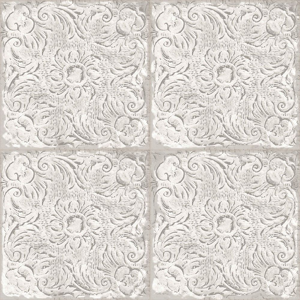 Superfresco Roman Tile Taupe Wallpaper
