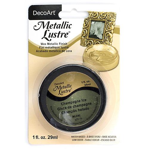 Metallic Lustre® DecoArt Glace de champagne 1oz