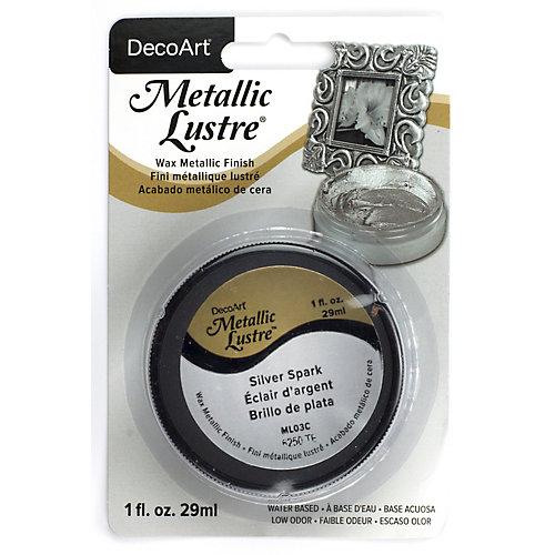 Metallic Lustre® DecoArt Éclair d'argent 1oz