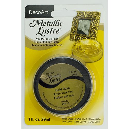 DecoArt Metallic Lustre® DecoArt Ruée vers l'or 1oz