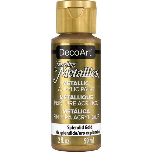DecoArt Metallic Paint 2oz -Splendid Gold