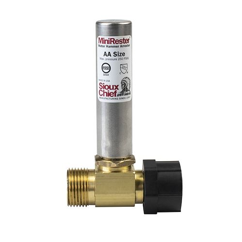 Water Hammer Mini-Rester - Ballcock Tee Connection