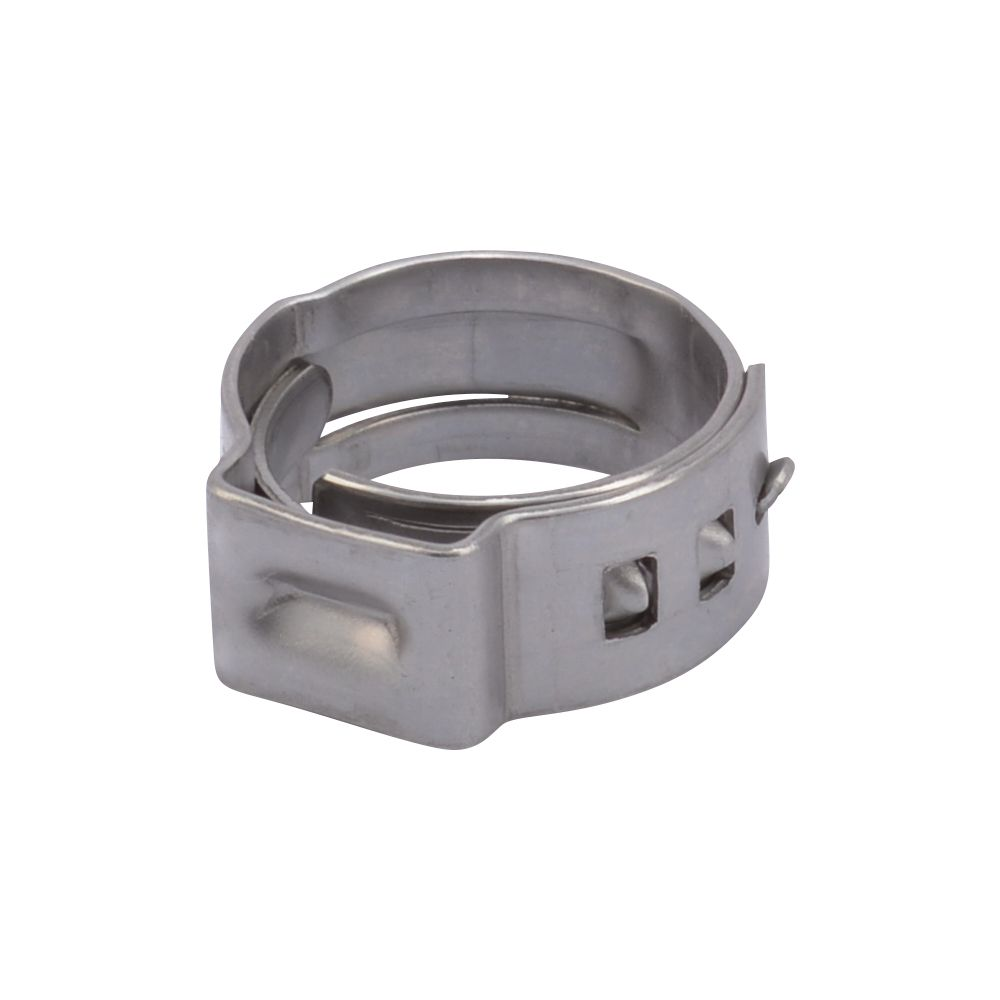 3/8 inch Stainless Steel PEX Clamp Ring (10-Pack)