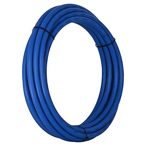 Tuyau PEX, 3/4 po x 25 pi, bleu
