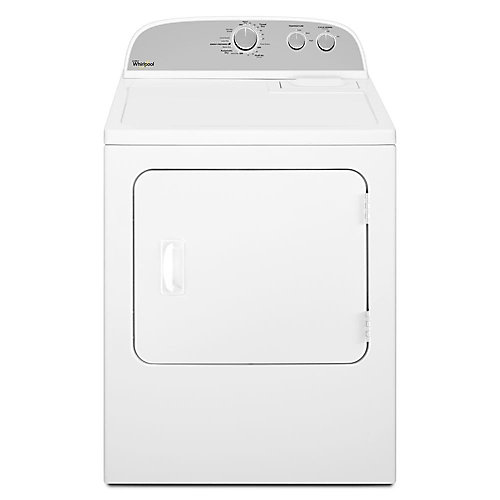 7.0 cu. ft. Top Load Electric Dryer with AutoDry in White