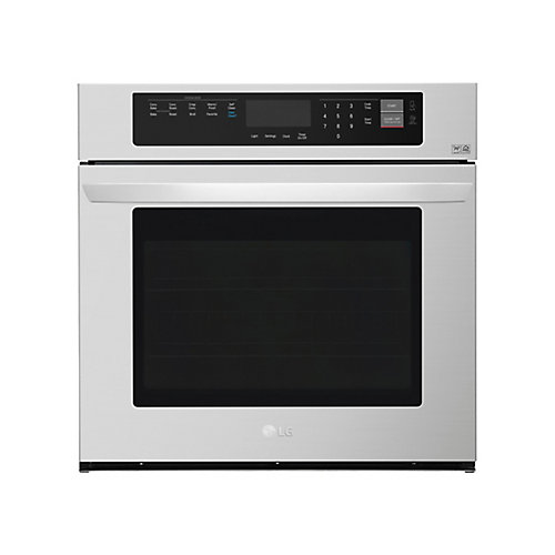 4.7 cu. ft. Single Wall Oven with EasyClean in Stainless Steel