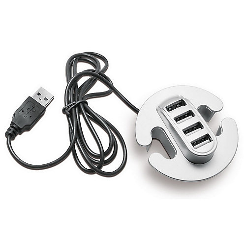 4-Port USB 2.0 Hub with Cable