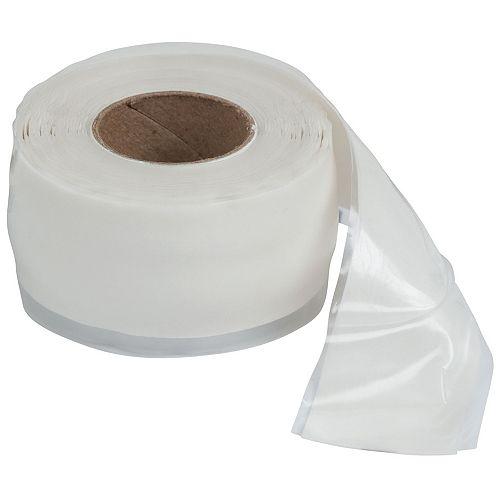 Ruban de réparation, 1 po x 10 pi, blanc