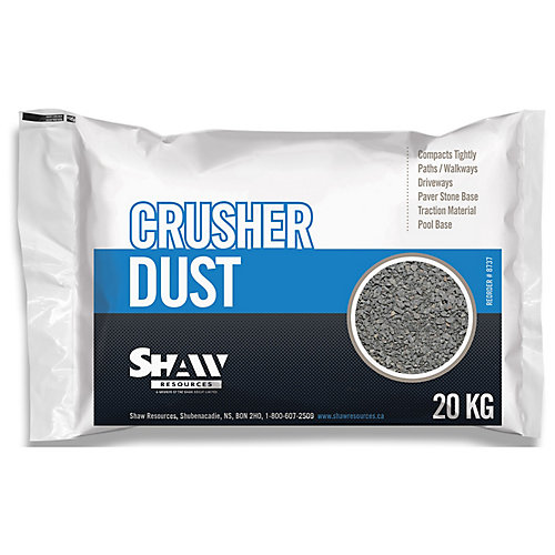 DIY Crusher Dust 44lb 5.2 cu.ft