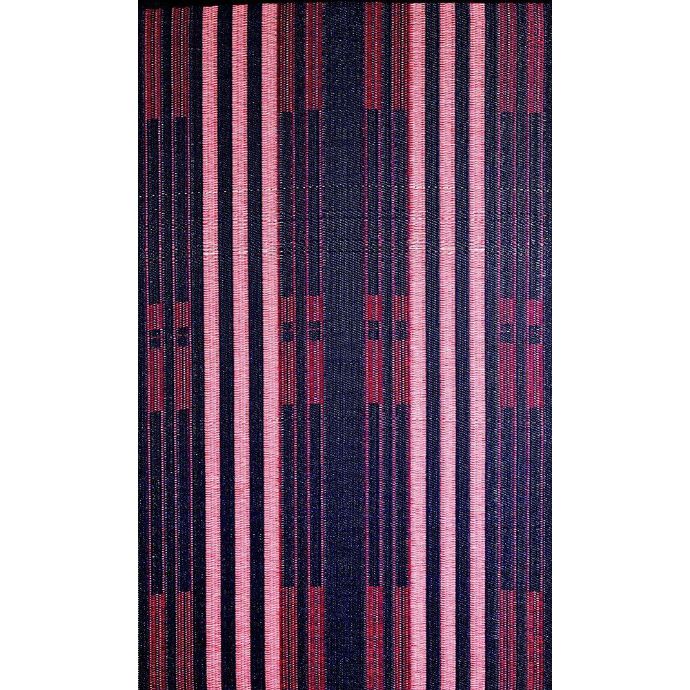 b.b.begonia Carpette d'intérieur/extérieur, 5 pi x 8 pi, style contemporain, rectangulaire, violet Brick Lane