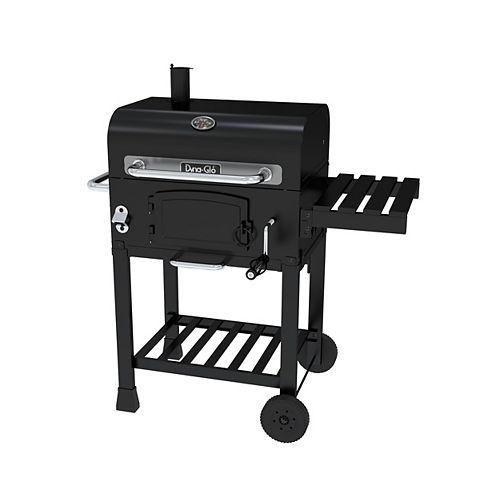 Barbecue au charbon compact, noir
